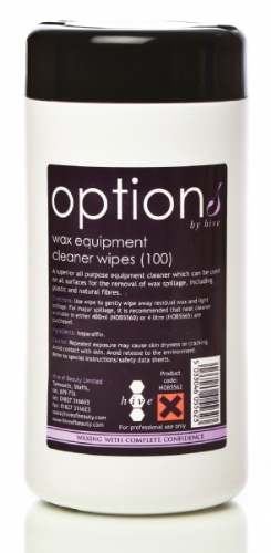Hive Wax Equipment Cleaner Wipes - TUB OF 100